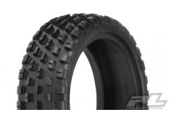 "PR8260-104 Wide Wedge 2.2� 2WD Z4 (Soft Carpet) Off-Road Carpet Buggy Front Tires for 2.2"" 1:10 2WD"