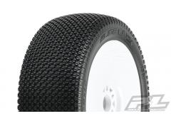 PR9064-033 Slide Lock Off-Road 1:8 Buggy Tires Mounted for Front or Rear, Mounted on Velocity V2 Whi