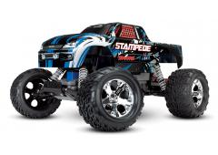 Traxxas Stampede XL-5 Electro Monster Truck RTR Compleet Blauw TRX36054-1B