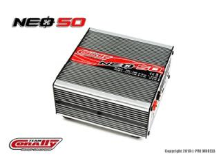 Team Corally TC NEO 50 CHARGER, AC INPUT, 50W, 4-8 Ni-XX, 2&3S LIPO