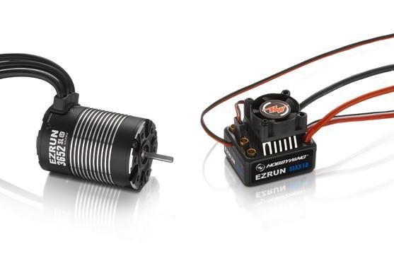 EzRun Combo MAX10 3652SL, 3300kv, 1/10 Waterproof