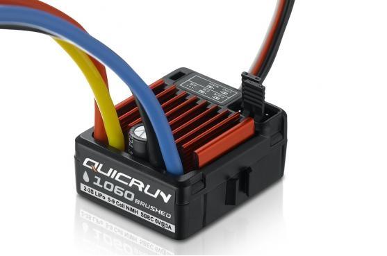 Hobbywing QuicRun 1060, 60A, Brushed ESC, 1/10