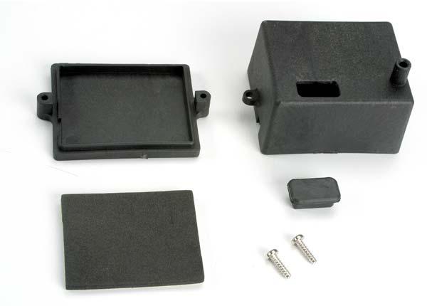 Traxxas trx4924 box ontvanger x tal toegang rubberen stop kleefschuim chass - Ontvanger x ...