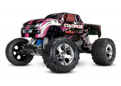 Traxxas Stampede XL-5 Electro Monster Truck RTR Compleet Pink TRX36054-1PINK