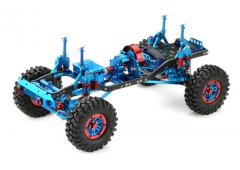 Absima 1:10 EP Crawler CR-01 metallic blue 4WD Rolling Chassis