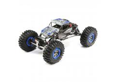 ECX 1/18 4WD Temper Gen 2, Brushed: Blauw RTR Int (ECX01015IT2)