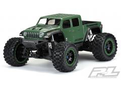 PR3533-17 Pre-Cut Jeep Gladiator Rubicon Transparante Body voor X-MAXX