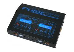 Pulsetec - Quad Charger - Ultima 400 Duo - AC 100-240V - DC 11-18V - 400W Power - 0.1-20.0A - 1-7 Li