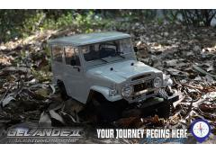 RC4WD Gelande II Truck Kit met Cruiser Body Set