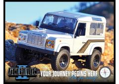RC4WD Gelande II Truck Kit met Defender D90 Body Set