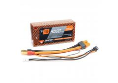 5000mAh 2S 7.4V 100C Smart LiPo Battery, Hardcase 5mm Tubes (SPMX50002S100HT)