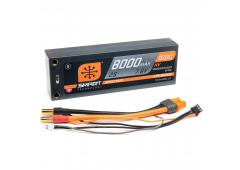 8000mAh 7.6V 2S 100C Smart LiPo Battery, Hardcase 5mm Tubes (SPMX80002S100HT)