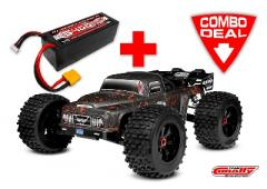 Team Corally DEMENTOR XP 6S Combo met LiPo Battery TC Power Racing 50C 4S 5400mAh