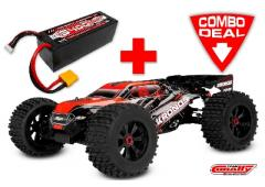 Team Corally KRONOS XP 6S Combo met LiPo Battery TC Power Racing 50C 4S 5400mAh