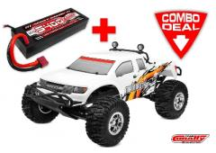 Team Corally MAMMOTH SP Combo met LiPo Battery TC Power Racing 50C 2S 5400mAh