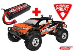 Team Corally MAMMOTH XP Combo met LiPo Battery TC Power Racing 50C 2S 5400mAh