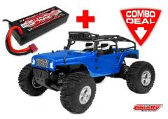 Team Corally MOXOO SP Combo - met LiPo Battery TC Power Racing 50C 2S 5400mAh