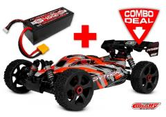 Team Corally PYTHON XP 6S Combo met LiPo Battery TC Power Racing 50C 4S 5400mAh