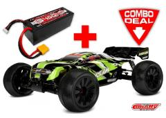 Team Corally SHOGUN XP 6S Combo met LiPo Battery TC Power Racing 50C 4S 5400mAh