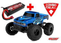 Team Corally TRITON SP Combo met LiPo Battery TC Power Racing 50C 2S 5400mAh