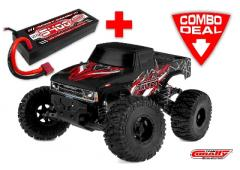 Team Corally TRITON XP Combo met LiPo Battery TC Power Racing 50C 2S 5400mAh