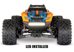 Traxxas New Maxx Met LED 1/10 Oranje TRX89076-4LED