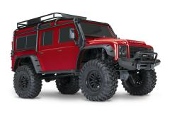 Traxxas TRX-4 Land Rover Crawler Limited Edition Rood TRX82056-4RED