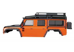 Traxxas TRX8011A Land Rover Defender Body in Adventure Oranje