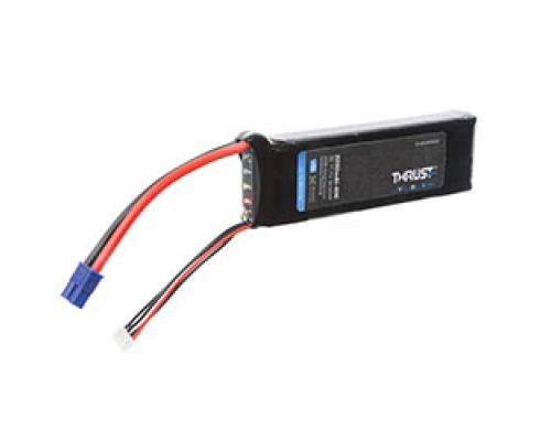 3200mAh 11,1V 3S 40C Thrust VSI LiPo Battery EFLB32003S40