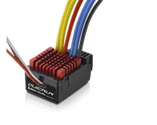 Hobbywing QuicRun 860 Dual, 60A, Brushed ESC, 1/8